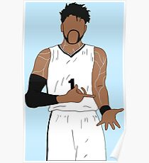 D'Angelo Russell hat Eis in seinen Adern Poster