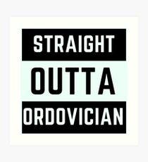 Straight Outta Ordovician Art Print