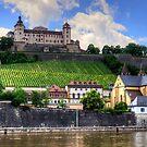 Fortress Marienberg by Tom Gomez