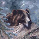 Bear at Rest by paulaveschore
