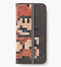 Super Mario Tanooki Vintage Pixels iPhone Wallet/Case/Skin