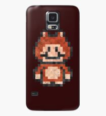 Super Mario Raccoon Vintage Pixels Case/Skin for Samsung Galaxy