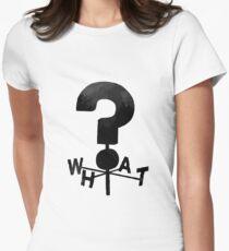 Camiseta entallada para mujer Gravity Falls ¿QUÉ?