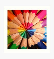 In order to have friendship you must look past the color to the soul, because within the soul lies a rainbow of many colors - Lyman Frank Baum Art Print