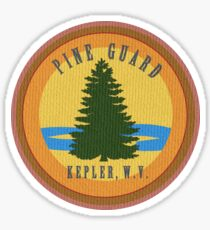 Pine Guard Emblem Sticker
