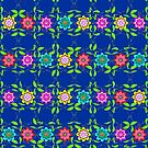 Pretty Flowers in a Row by Gravityx9