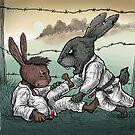 Easter Bunnies 2018 by Meerkatsu