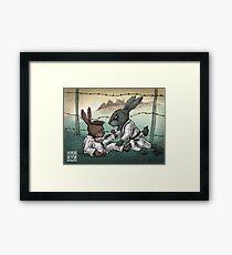 Easter Bunnies 2018 Framed Print