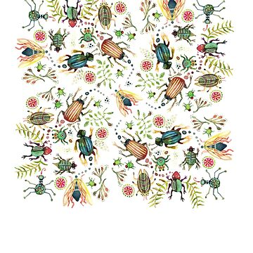 Eco friendly BUGS galore  by dotsofpaint
