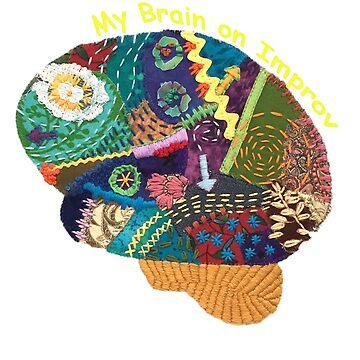 My Brain on Improv 2 by izzygcsp