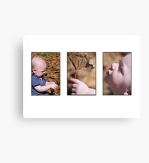 autumn baby - a story in pictures Metal Print