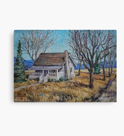 Sharecropper's House Canvas Print