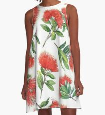 Pohutukawa A-Line Dress
