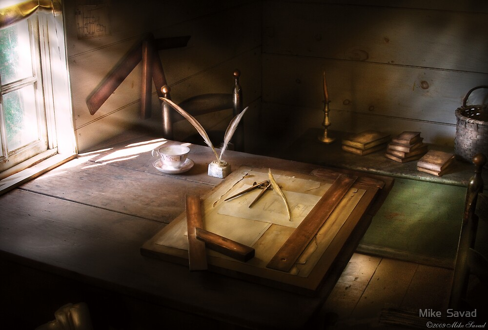 The drafting table by Michael Savad