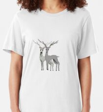 Duplicate Deer Slim Fit T-Shirt