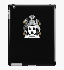 Booth Coat of Arms - Family Crest Shirt iPad Case/Skin