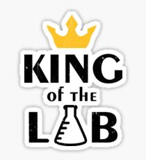 King Of The Lab Sticker