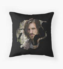 Merlin- Gwain Camelot Crest Throw Pillow