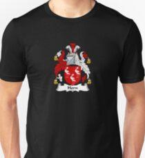 Horn Coat of Arms - Family Crest Shirt Unisex T-Shirt