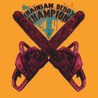 Chainsaw Derby Champion by Elisha Hale