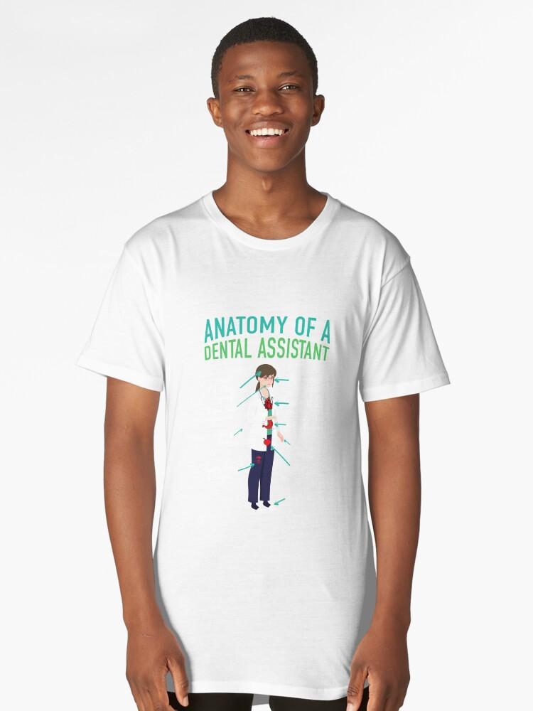 Camisetas largas «Anatomía de un asistente dental | higienista ...