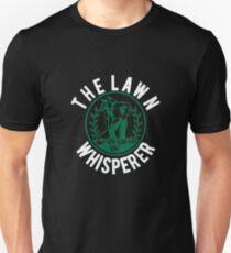 Lawn Whisperer | lawn mower shirt | lawn mower gift | lawn mowing shirts | lawn care apparel | lawnmower shirt | lawn ranger Unisex T-Shirt