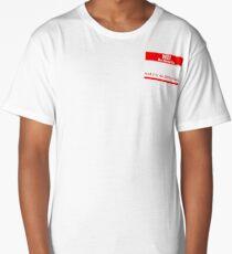 Hi my name is Long T-Shirt