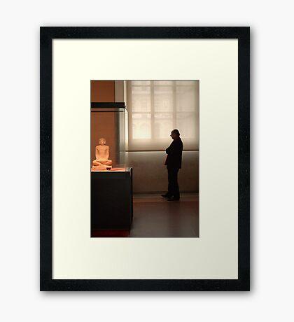 For the love of art Framed Print