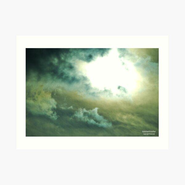 Breaking Storm Art Print