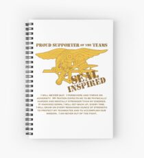 Navy SEAL Inspired with Creed Spiral Notebook