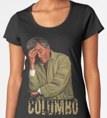 Columbo - Peter Falk Women's Premium T-Shirt