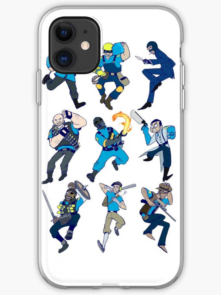 TEAM FORTRESS 2 SD ALL CLASS 2 iphone case