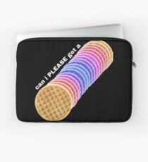 Can I get a waffle? Can i PLEASE get a waffle? Laptop Sleeve