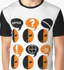 Deathstroke Moods Graphic T-Shirt