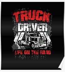 TRUCK DRIVER Poster