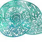 «concha de mandala» de Jennie Clayton