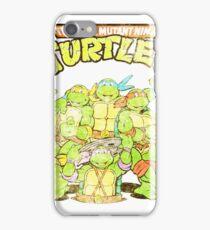 Retro Ninja Turtles iPhone Case/Skin