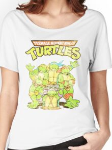 Retro Ninja Turtles Women's Relaxed Fit T-Shirt