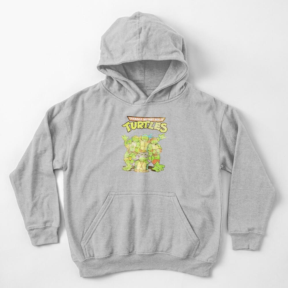 Retro Ninja Turtles Kids Pullover Hoodie