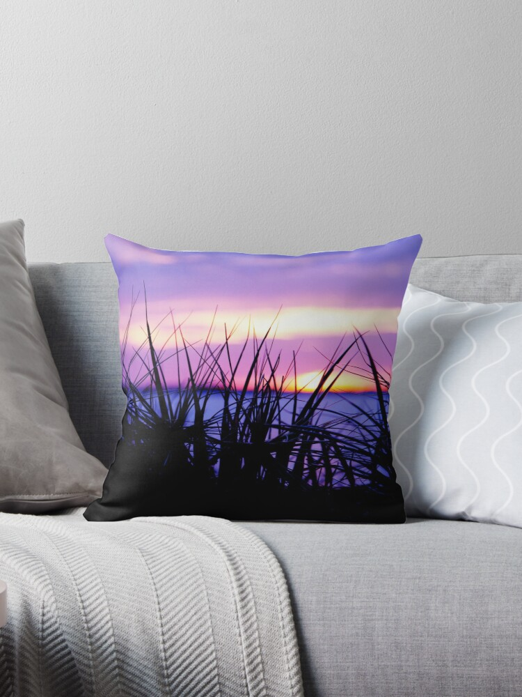 Beach Grasses at Sunset # 2 - Port Melbourne by Ruth Durose