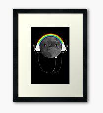 Dark Side of the Moon Parody #473827481 Framed Print