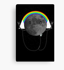 Dark Side of the Moon Parody #473827481 Canvas Print