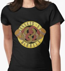 Snakes N' Barrels Women's Fitted T-Shirt