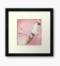 Ice-cream girl Framed Print