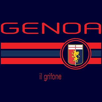 Serie A - Genoa (Home Navy) by madeofthoughts