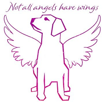 Not All Angels Have Wings (in pink) by Brianna-Designs