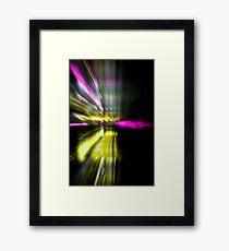 Light blast Framed Print