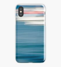 Abstract Boats on Sunny Day iPhone Case/Skin