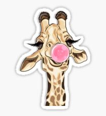 Giraffe. Sticker
