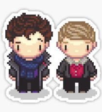 The Detective and the Doctor Sticker